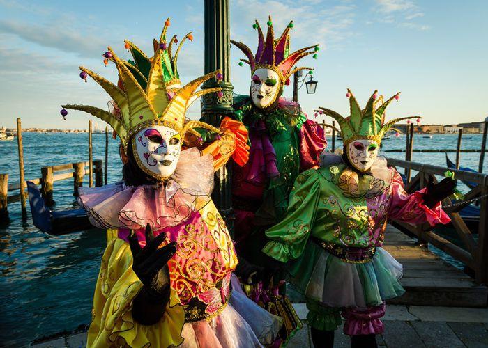 maschere di carnevale tradizionali italiane