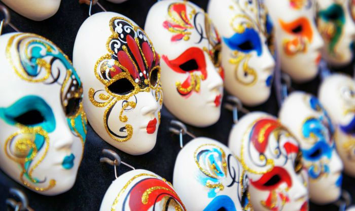 Maschere di Carnevale tradizionali in Italia