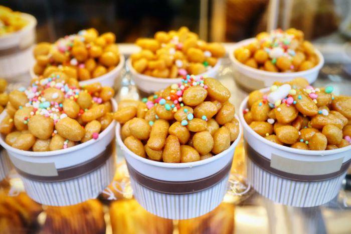 struffoli dolci di carnevale