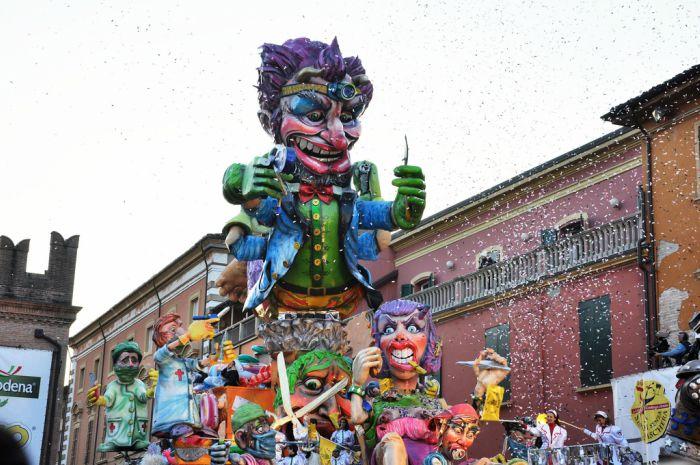 carnevale emilia romagna 2018