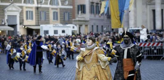 carnevale roma 2018