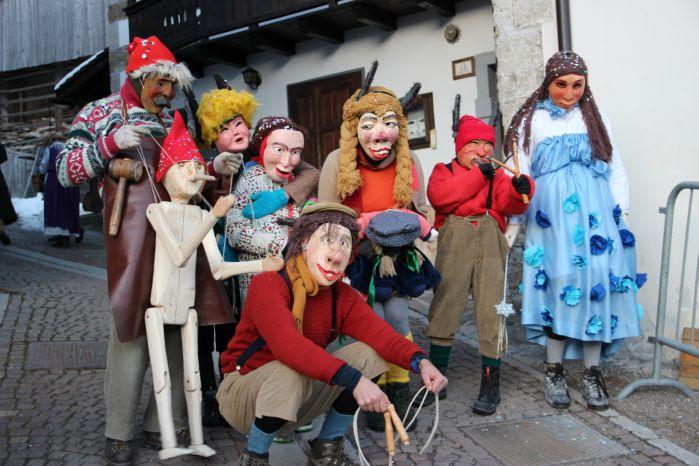 maschere carnevale sauris 2018