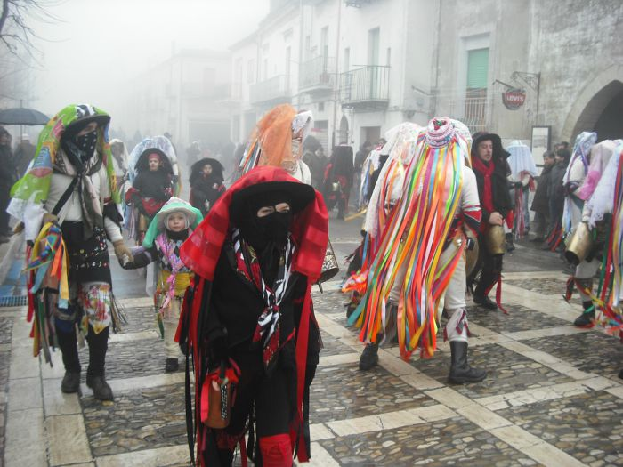 maschere carnevale tricarico 2018