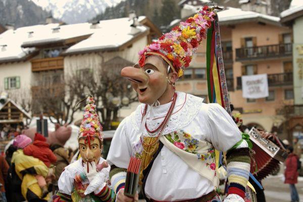 Carnevale di Moena 2021, la perla del carnevale ladino